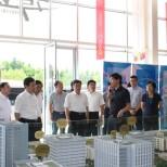 泰州市委副书记、市长陆志鹏一行莅临东部中心湾谷科技园交流调研