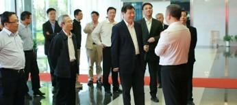 2016年5月5日,时任上海市委副书记应勇一行莅临国家技术转移东部中心参观调研