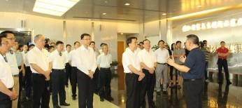 2016年7月20日,广东省委副书记、省长朱小丹一行赴国家技术转移东部中心参观交流